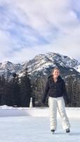 Skating In Banff Alberta