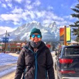 Cold day In Canmore Alberta