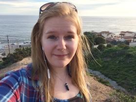 Taking a selfie In Malibu