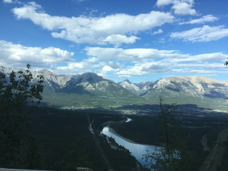 View of Canmore Alberta- 45 minutes from where I live