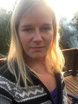 Selfie at cabin